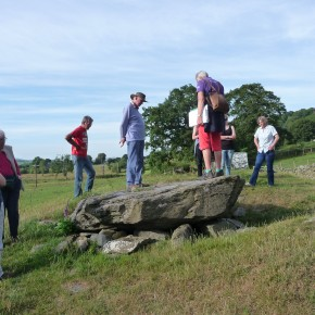 Visit to Tan-y-Coed Burial Chamber