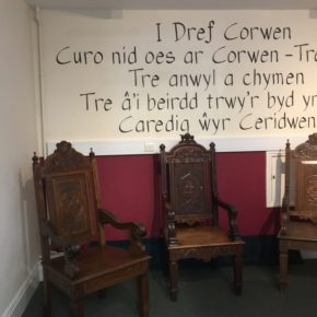 Come and see our display of bardic chairs.